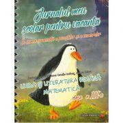 Jurnalul meu scolar pentru vacanta - Limba romana si Matematica pentru clasa a III-a