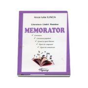 Literatura Limbii Romane - Memorator