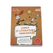 Limba si literatura romana, caiet de lucru conform programei pentru clasa a IV-a Semestrul aI II-lea. Contine portofoliul de evaluare al elevului - Alina Radu