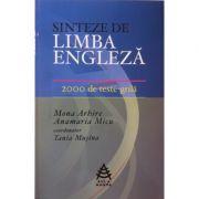 Sinteze de limba engleza - 2000 de teste grila