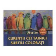Curentii cei tainici subtili colorati - Set cu 20 de planse cu mostre de culori