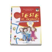 Teste de evalaure pentru pregatirea Evaluarii Nationale la clasa a II-a. Scris-Citit, Matematica - Monica Margarit-Baraitaru