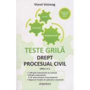 Drept procesual civil - Viorel Voineag (Editia a 2-a) Teste grila pentru magistratura, avocatura si licenta, actualizat aprilie 2017