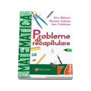 Probleme de recapitulare. Matematica. Clasa a VII-a - Artur Balauca