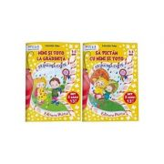 Set educational 2 caiete pentru anteprescolari (2-3 ani). Colectia Mimi si Toto - Laurentia Culea
