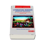 Literatura romana, analiza textelor din toate manualele alternative pentru clasele 5-8 (Editia a 5-a)