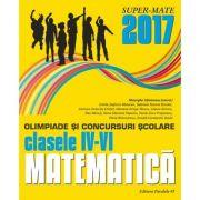 Olimpiade si concursuri scolare matematica 2017 - clasele IV-VI