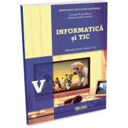 Informatica si TIC - manual pentru clasa a V-a - Carmen Diana Baican