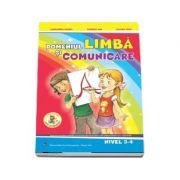 Set de 3 caiete pentru gradinita, nivel 3-4 ani. Domeniul, limba si comunicare, Stiinte (Activitate Matematica, Cunoasterea Mediului), Om si societate - Editia 2017