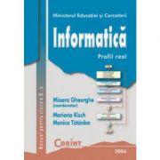 Informatica - Manual pentru clasa a IX-a (Mioara Gheorghe)
