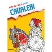 Marea mea carte de colorat - Cavaleri