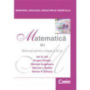 Matematica M1 - Manual pentru clasa a XI-a (Ion D. Ion)
