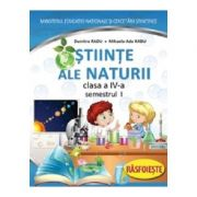 Stiinte ale naturii manual pentru clasa a IV-a, semestrul I + II - (Contine editia digitala) - Dumitra Radu si Mihaela-Ada Radu