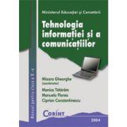 Tehnologia informatiei si comunicatiilor - Manual pentru clasa a IX-a (Mioara Gheorghe)
