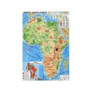 Africa. Harta fizica - Australia. Harta fizica (Conform programei scolare in vigoare)