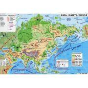 Asia. Harta fizica - Harta Politica (In conformitate cu programa scolara in vigoare)