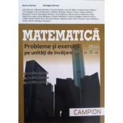 Matematica - probleme si exercitii pe unitati de invatare M2, pentru clasa a X-a - Profilul, servicii, resurse, tehnic