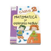 Matematica si explorarea mediului, pentru clasa a II-a, caiet de lucru - Semestrul 1 (Varianta A)