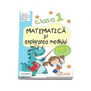Matematica si explorarea mediului, pentru clasa I, caiet de lucru - Semestrul 1 (Varianta I)