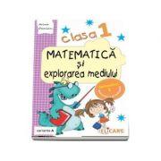 Matematica si explorarea mediului, pentru clasa I, caiet de lucru - Semestrul 1 (Varianta A)