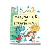 Matematica si explorarea mediului, pentru clasa I, caiet de lucru - Semestrul 1 (Varianta AM)