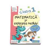 Matematica si explorarea mediului, pentru clasa I, caiet de lucru - Semestrul 1 (Varianta CP)