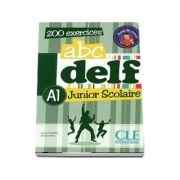 ABC - DELF - Niveau A1. Junior scolaire - Livre si cederom. 200 exercices - DVD - rom audio et video inclus