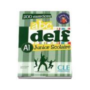 ABC - DELF - Niveau A1. Junior scolaire - Livre si cederom. 200 exercices - DVD - rom audio et video inclus