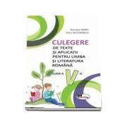 Culegere de texte si aplicatii pentru limba si literatura romana, clasa a V-a - Mariana Norel