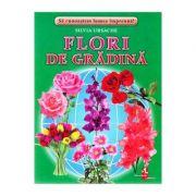 Flori de gradina - Cartonase - Silvia Ursache