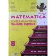 Evaluare nationala matematica 2018 - La finalul clasei a VIII-a
