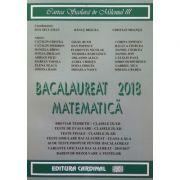 Bacalaureat matematica 2018 - Breviar teoretic IX-XII, Teste de evaluare IX-XII...