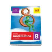 Clubul matematicienilor, matematica pentru clasa a VIII-a, semestrul I (2017)