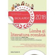 Bacalaureat 2018 Limba si Literatura Romana (PROFIL REAL) Proba orala: 30 de variante, Proba scrisa: 80 de variante - Ghid de pregatire