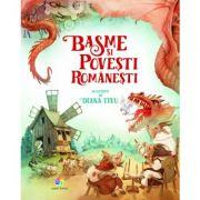 Basme si povesti romanesti (Ilustratii de Diana Tivu)