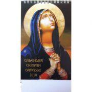 Calendar 2018 Crestin Ortodox (de birou)