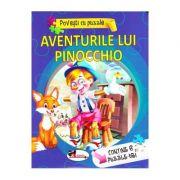 Povesti cu puzzle. Aventurile lui Pinocchio (Contine 6 Puzzle-uri)