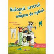 Ratonul, ariciul si masina de spalat (Editie bilingva engleza-romana) - Katja Richert