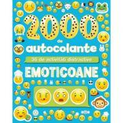 2000 de autocolante - Emoticoane. 36 de activitati distractive