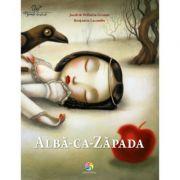 Alba-ca-Zapada - Ilustratii de Benjamin Lacombe