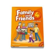 Family and Friends 4 - Class Book and MultiROM Pack - Naomi Simmons (New Edition)
