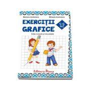 Caiet de exercitii grafice 5-6 ani - Mariana Andreianu (Editie revizuita si imbunatatita 2017, B5)