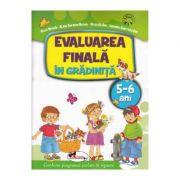 Evaluarea finala in gradinita 5-6 ani. Conform programei scolare in vigoare - Alice Nichita