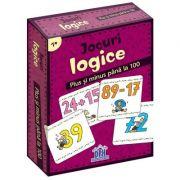Jocuri logice - Plus si minus pana la 100 (48 de jetoane)