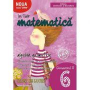 Matematica 2000. Algebra, geometrie. (Initiere, ameliorare si dezvoltare) Caiet de lucru, pentru clasa a VI-a. Semestrul II - Ion Tudor