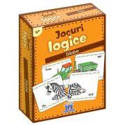 Jocuri logice - Silabe (48 de jetoane)