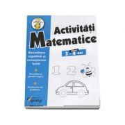 Activitati matematice, nivel 3-4 ani -Dezvoltare cognitiva si cunoasterea lumii. Dezvoltarea gandirii logice. Rezolvarea de probleme (Colectia Stupul)