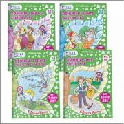Set patru caiete pentru grupa mijlocie 4-5 ani - Editia 2016 color