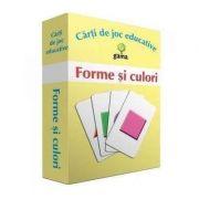Forme si culori - carti de joc educative