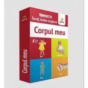 Invat limba engleza - Corpul meu (Carduri)